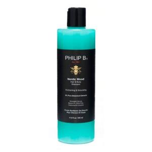 "Philip B Nordic Wood Hair & Body Shampoo Шампунь для волос и тела ""Скандинавский лес"""