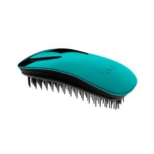 Ikoo Home Brush Turquoise Metallic Edition Black Body Расческа Цвет: Бирюзовый с черным