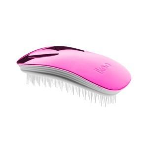 Ikoo Home Brush Pink Metallic Edition White Body Расческа Цвет: Розовый с белым