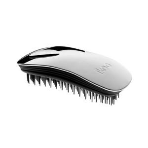 Ikoo Home Brush Silver Metallic Edition Black Body Расческа Цвет: Серебристый с черным