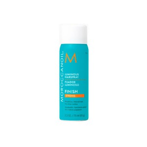 Moroccanoil Luminous Hair Spray Strong Flexible Hold Лак для волос сильной подвижной фиксации