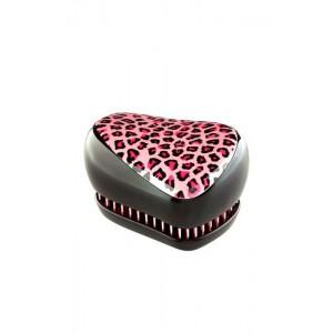 Tangle Teezer COMPACT Pink Kitty Компактная расческа Цвет: Леопард, розовый