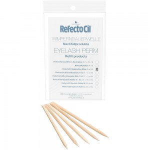 RefectoCil Eyelash Perm Refill Rosewood Sticks Палочки из розового дерева