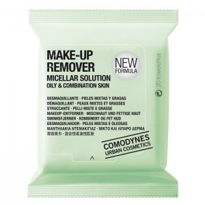 Comodynes Make-Up Remover Micellar Solution Oily & Combination Skin Мицеллярные салфетки для снятия макияжа, для жирной кожи