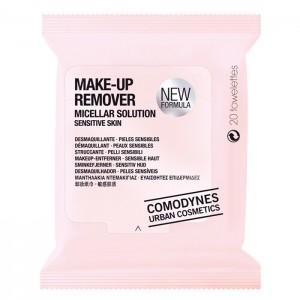 Comodynes Make-Up Remover Micellar Solution Sensitive Skin Мицеллярные салфетки для снятия макияжа, для чувствительной кожи