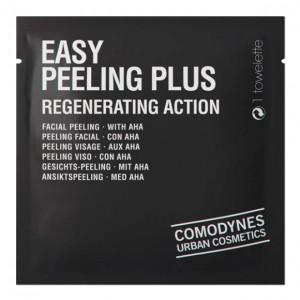 Comodynes Hygiene Facial Easy Peeling Plus Regenerating Action Cалфетки-пилинг для лица и тела с эффектом регенерации