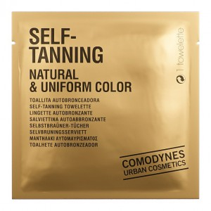 Comodynes Autosunburn Self-Tanning Natural & Uniform Color Cалфетка-автозагар натуральный ровный цвет