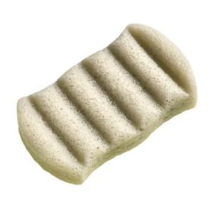 The Konjac Sponge Co Face Sponge With Nourishing Mineral Rich Green Clay 6 Wave Спонж конняку для тела с зеленой глиной 6 волн