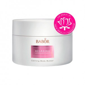 Babor SPA Relaxing Lavender Mint Calming Body Butter Обогащённый, успокаивающий крем против старения  для тела