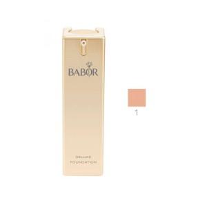 Babor Deluxe Foundation №01 Ivory Beige Насыщенный тональный крем с лифтинг-эффектом Оттенок: Слоновая кость