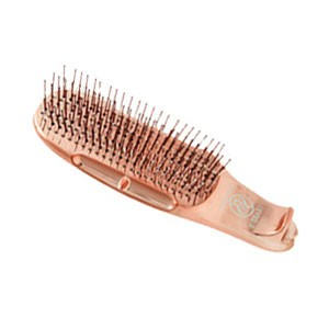 S-Heart-S Scalp Brush World Model Short 376 Короткая универсальная массажная расческа Цвет: Золотой