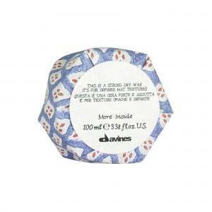 Davines More Inside Strong Dry Wax Сухой воск для текстурных матовых акцентов