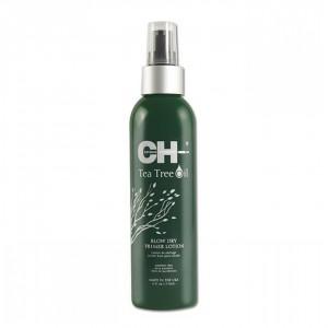 CHI Tea Tree Oil Blow Dry Primer Lotion Защитный лосьон для волос с маслом чайного дерева 177 мл