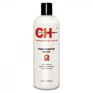 CHI Transformation Solution System Phase 2 Red Выпрямляющий закрепитель для натуральных или жестких волос 450 мл
