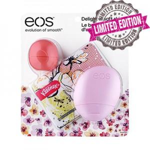 EOS Spring 2016 Limited Edition Trio Lip Balm & Hand Lotion 3-Pack Весенний лимитированный набор из 3-x продуктов