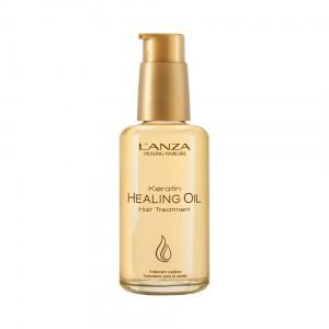 Lanza Keratin Healing Oil Hair Treatment Невесомое восстанавливающее масло для волос
