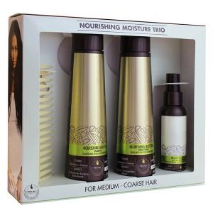 Macadamia Professional NOURISHING MOISTURE Trio Набор для нормальных и жестких волос