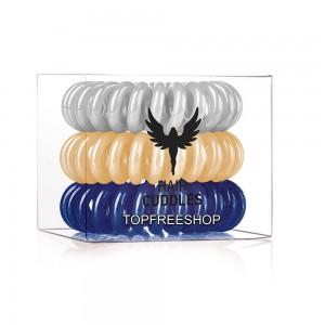 Hair Bobbles HH Simonsen Резинка-браслет для волос Набор: New Year mix 3 шт