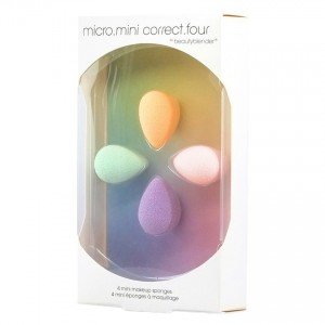 BeautyBlender Micro.Mini Correct.Four Набор 4 спонжа