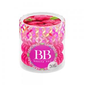 Beauty Bar Hair Rings Резинка-браслет для волос Цвет: Малиновый