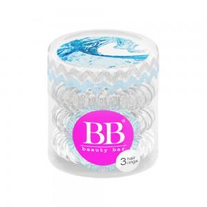 Beauty Bar Hair Rings Резинка-браслет для волос Цвет: Прозрачный