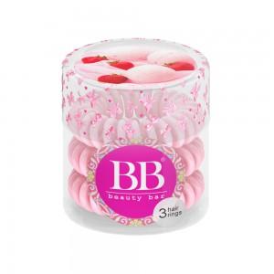 Beauty Bar Hair Rings Резинка-браслет для волос Цвет: Светло-Розовый