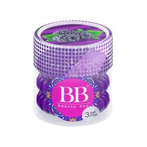 Beauty Bar Hair Rings Резинка-браслет для волос Цвет: Фиолетовый