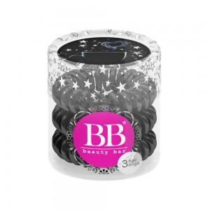 Beauty Bar Hair Rings Резинка-браслет для волос Цвет: Черный