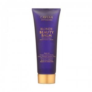 ALTERNA CAVIAR ANTI-AGING Blonde Beauty Balm Бальзам усиливающий цвет и придающий зеркальное сияние светлым волосам