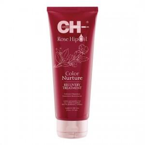 CHI Rose Hip Oil Color Nurture Recovery Treatment Восстанавливающая маска с маслом розы и кератином