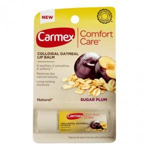 CARMEX Comfort Care Lip Balm Sugar Plum Stick Бальзам для губ длительное увлажнение Сахарная слива