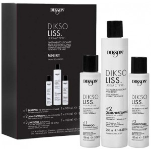 Dikson Diksoliss Lissactives Mini Kit Мини набор для выпрямления волос