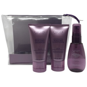 ALTERNA CAVIAR VOLUME Travel Kit Дорожный набор: Volume Shampoo+Conditioner+Volume Mist