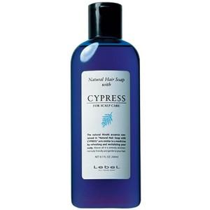 Lebel Natural Hair Soap With Cypress Шампунь для ухода за чувствительной и сухой кожей головы с маслом японского кипариса