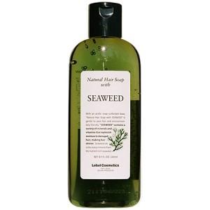 Lebel Natural Hair Soap With Seaweed Шампунь для нормальных и слабо повреждённых волос с экстрактом морских водорослей