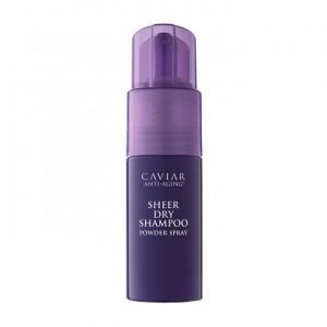 ALTERNA CAVIAR ANTI-AGING Sheer Dry Shampoo Powder Spray Прозрачный сухой шампунь пудра-спрей нового поколения