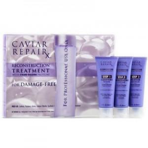 ALTERNA CAVIAR REPAIR RX Reconstruction Treatment Трехфазовое мгновенное восстановление волос