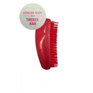 Tangle Teezer THE ORIGINAL Thick & Curly Salsa Red Профессиональная расческа для густых и вьющихся волос Цвет: Красный