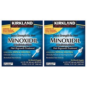 Minoxidil Kirkland Hair Regrowth Treatment 5% Лосьон от выпадения и для стимуляции роста волос 5%