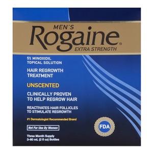 Minoxidil Rogaine Hair Regrowth Treatment 5% Лосьон от выпадения и для стимуляции роста волос 5%