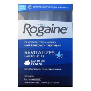 Minoxidil Rogaine Hair Regrowth Treatment Foam 5% Пена от выпадения и для стимуляции роста волос 5%