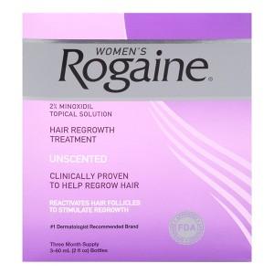 Minoxidil Rogaine Hair Regrowth Treatment 2% Лосьон от выпадения и для стимуляции роста волос для женщин 2%
