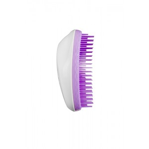 Tangle Teezer THE ORIGINAL Thick & Curly Pure Violet Расческа для густых и вьющихся волос Цвет: Белый c Фиолетовым