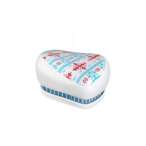 Tangle Teezer COMPACT Winter Frost Компактная расческа Цвет: Снежинки
