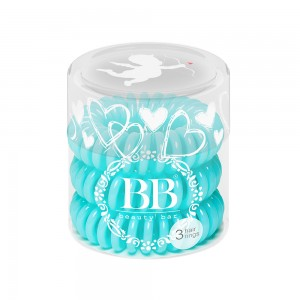 Beauty Bar Hair Rings Резинка-браслет для волос Цвет: Тиффани