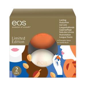 EOS 2 Pack Limited Edition Holiday Collection Лимитированный набор из 2-х смягчающих и увлажняющих бальзамов для губ