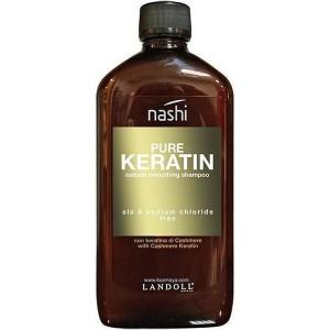 Nashi Pure Keratin Natural Smoothing Shampoo Разглаживающий шампунь с кератином