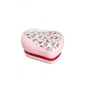 Tangle Teezer COMPACT Hello Kitty Candy Stripes Компактная расческа