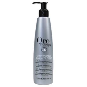 Fanola Oro Therapy Conditioner Diamante Puro Бриллиантовый кондиционер с кератином для реконструкции волос