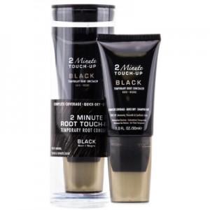 ALTERNA STYLIST 2 Minute Root Touch Up Black Крем для мгновенного окрашивания отросших корней волос оттенка черного